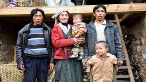 我国神秘的村落,兄弟同娶一个老婆,用这种方法辨别孩子是谁的!