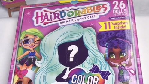 姨妈手作:拆一个二代的美发娃娃图片