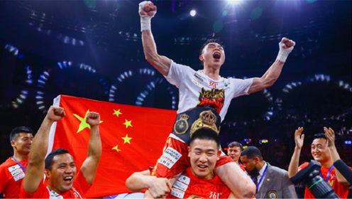赢得太漂亮了,江西小伙徐灿打跪日本拳王,中国赢了!