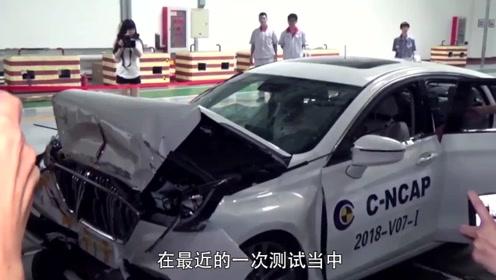国产车安全性怎么样?红旗H7撞上货车,网友:还是日系车好啊