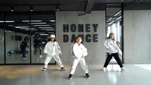 南京Honey少儿翻跳以团之名《我的秘密》,活力帅气