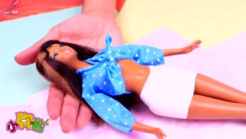 手工气球制作芭比的时尚新衣 创意无限让芭比光彩照人 玩具故事