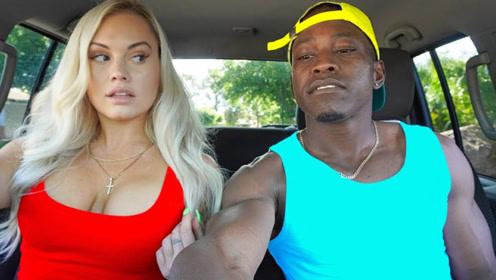 小伙偷偷在女友车上装摄像机,结果把自己坑了,网友:头上有点绿