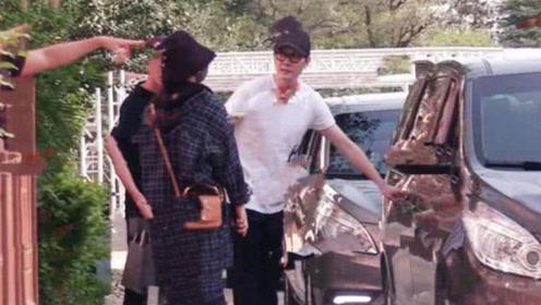 赵丽颖和冯绍峰一同购物 身材圆润和从前判若两人