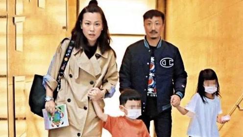郑中基7岁女儿露脸,妈妈身形憔悴暴瘦和前妻阿sa完全两种类型