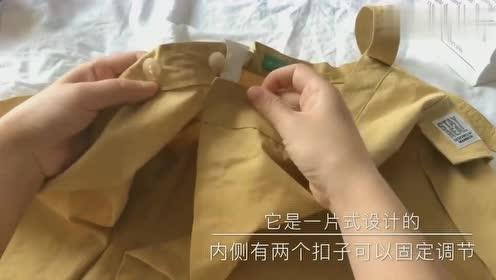 小姐姐拆快递:一件A字版半身裙,显瘦修身,好看!