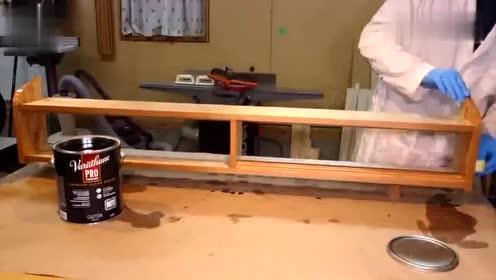 木工做了一个壁架,绝对可以照做一个