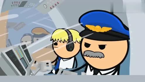 """氰化欢乐秀两架飞机在空中""""打架"""",发射的炮是乘客的行李箱!"""