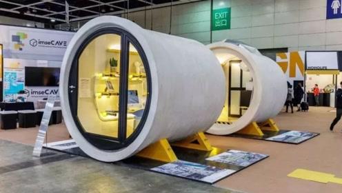 香港人发明的水管房,厨房浴室样样齐全,只要12万港元就能住上