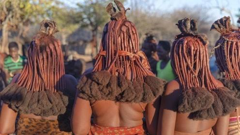 """非洲最""""脏""""女人,一生没洗过澡红泥涂满全身,据说还可以防晒"""