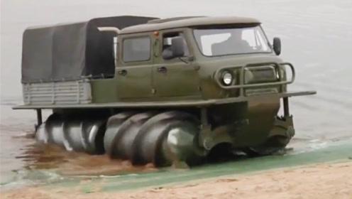 俄罗斯的黑科技越野车!喜欢在路况差的地方行驶,如此与众不同!