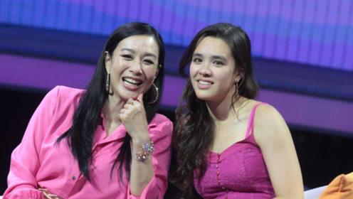 钟丽缇携三女为张伦硕庆生,20岁长女二度更名,遗传妈妈美貌