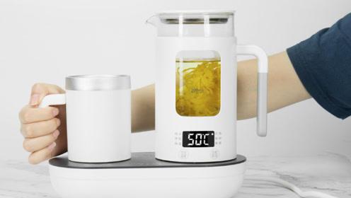 生活元素多功能冷热杯开箱 一年四季都适用