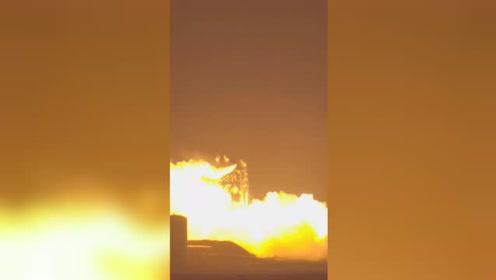 SpaceX发动机测试出小意外:星际飞船原型变火球