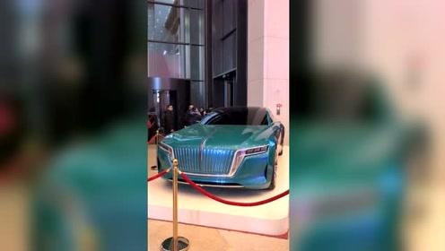 中国自组研制的红旗概念车,为国人点个赞吧