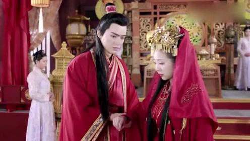 王爷扶新王妃回府,结果目光却沉迷于旧王妃,好扎心呀!