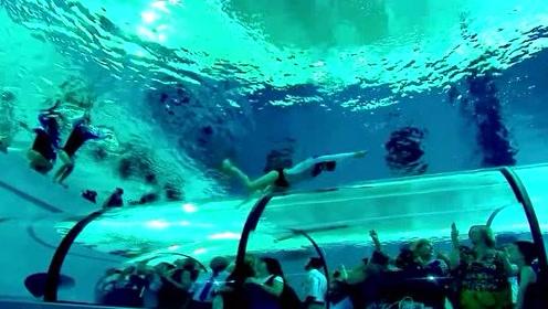 世界最深的游泳池,门票要2000元,网友:打扰了