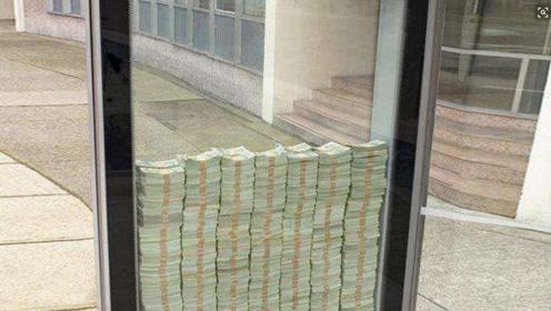 世界上最坚固的玻璃,打碎能获得10万美金,谁想来试试