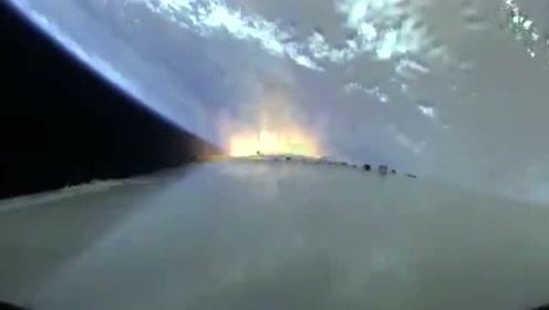 双曲线一号运载火箭成功首飞 箭载摄像头画面来喽!