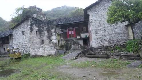 藏在大山里的千年古寨,整个村子都是用石头修建的