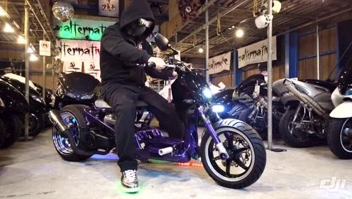售价达10万元的女装摩托车,配置多多,听听声浪如何!
