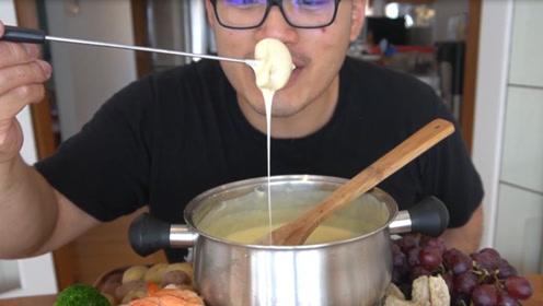 男友试吃芝士火锅,连续吃了六十几天,终于知道什么最好吃了