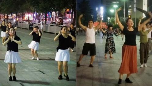 近千名大妈挤在一个广场斗舞,路人全被带跑偏,走路自带魔性节奏