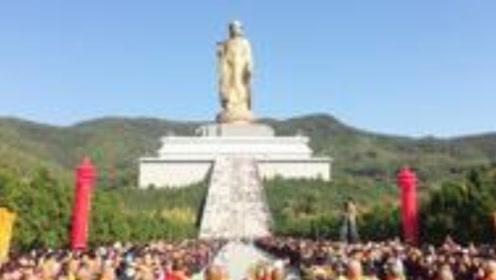 世界第一高佛像,108名高僧开光,花费12亿!游客:拜不起