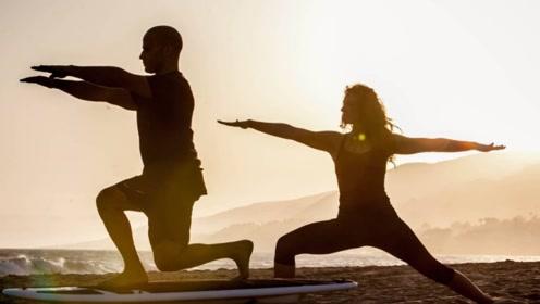 温柔瑜伽帮你燃脂塑形,运动不止激情四射!