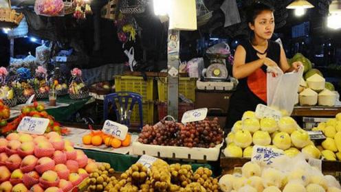 泰国水果出现凉凉的迹象,只因摊上中文警示牌,游客:告辞!