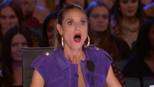 美国达人秀:奇葩baby参加达人秀,被子一扔,全场都傻眼了!