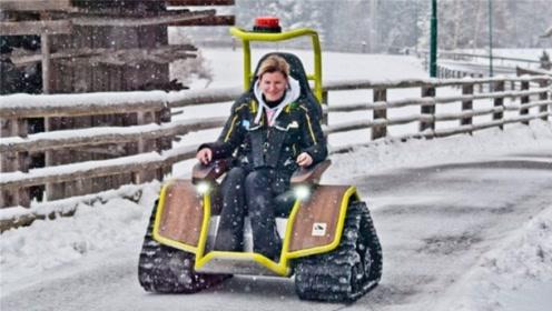 老外为妻子发明坦克轮椅,扭力堪比奔驰大G,意外走红开公司