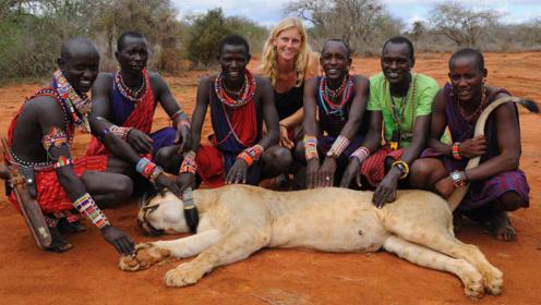 """最""""硬核""""的草原部落:连狮子见了都怕他们,网友:战斗力太强!"""