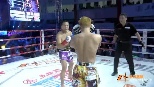 搏击老将王万本不忘初心,主场作战战胜日本王者!赢得满堂喝彩