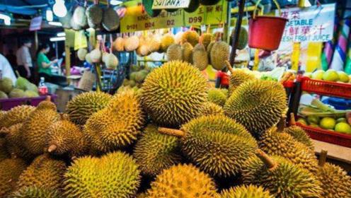 """我国很贵的榴莲,泰国大量""""滞销"""",当地商贩吐槽:都怪中国游客"""