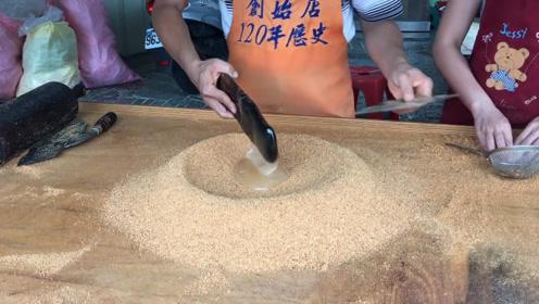 台湾百年老店,一盒花生酥卖58元,顾客:还是太便宜!