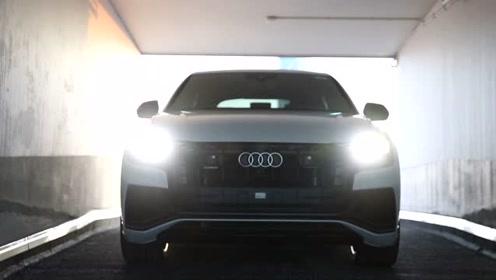 奥迪Q8发布,闪眼的还是车灯