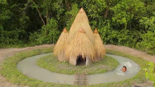 建造环形游泳池,在家门口拥有一座这样的游泳池谁都想吧