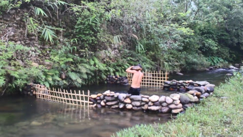 """小哥动手搭建的""""鱼池"""",这环境简直太美"""