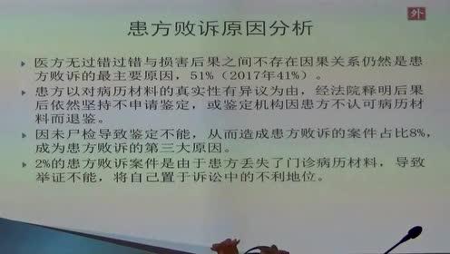 医疗法务法规讲座