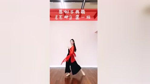 夏辉老师原创古典舞《芒种》第一段——中舞网APP精选