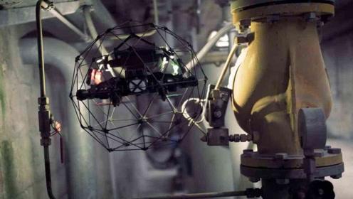3个难得一见的特种无人机,能代替人类做危险工作