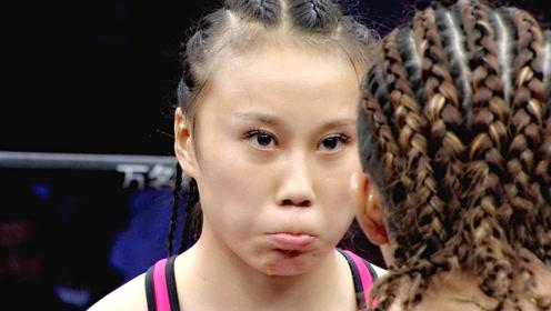霸气!东北女孩眼神杀人,KO四个老外,日本选手最惨险被毁容