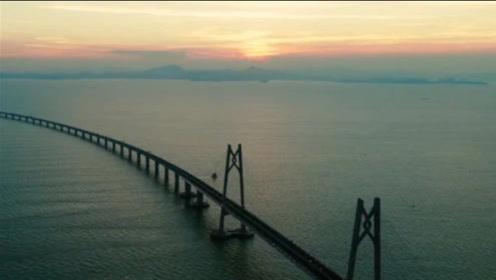 海洋如此深,跨海大桥的桥墩究竟是怎么建成的?过程令人佩服