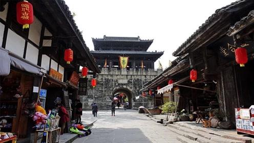 """四川""""最低调""""的古城,是唯一保存完好的三国古城,却鲜为人知"""