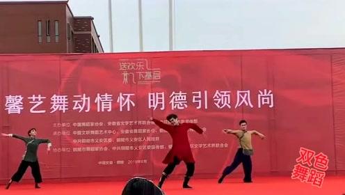 这才是少见的实力舞者,舞姿节奏感爆棚!