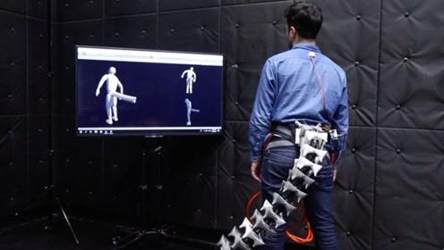 """中国大学生发明""""机械尾巴"""",穿戴在身体上,能保持平衡不摔倒!"""