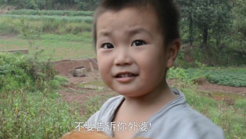 小伙偷丈母娘的鸡,跟儿子说不要告诉外婆,结果转身就被儿子出卖