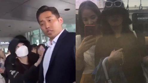 """IU为护粉丝向保安""""发飙""""     雨天与好友搭公交超接地气"""