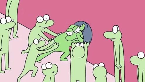 青蛙统领有严重强迫症,被同伴合力反击关进洞里,结局非常意外!